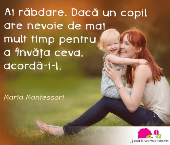 Citate Montessori In Imagini