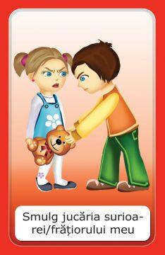 carti de joc- comportamente negative si pozitive