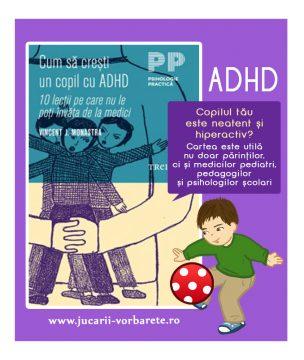 cum sa cresti un copil cu ADHD