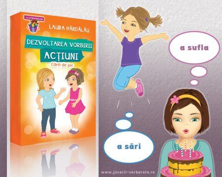 dezvoltarea vorbirii - carti de joc