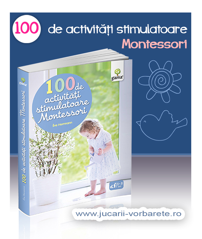 100 de activitati stimulatoare Montessori - imagine produs