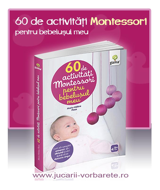 60 de activitati Montessori pentru bebelusul meu - imagine produs