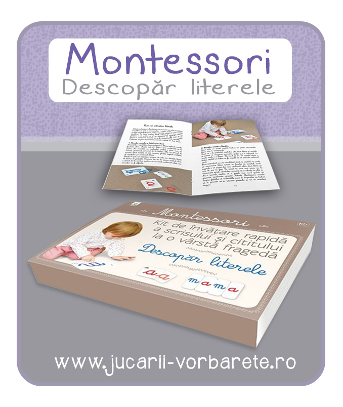 Montessori - Descopar literele - imagine produs