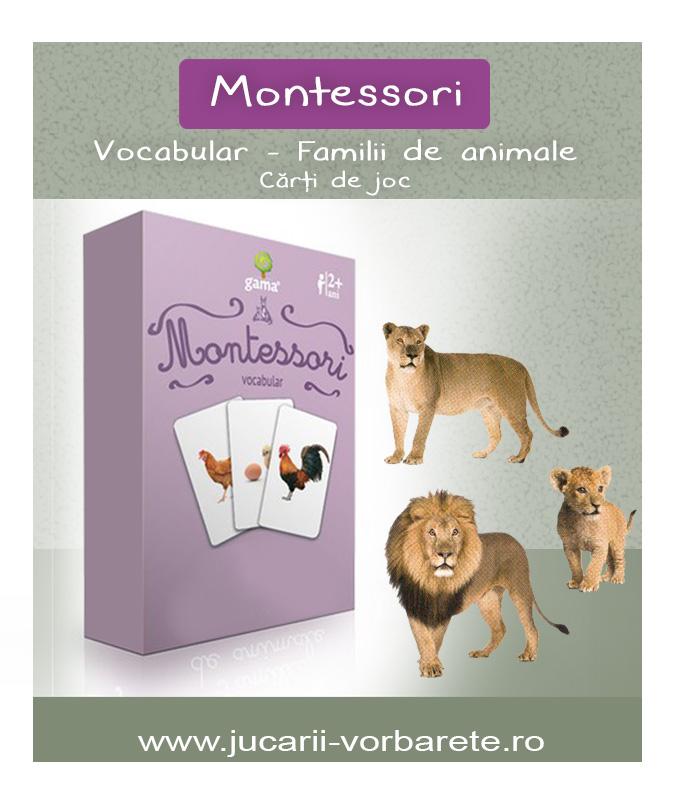 Montessori - familii de animale 1