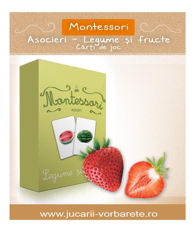 Montessori - legume si fructe 1