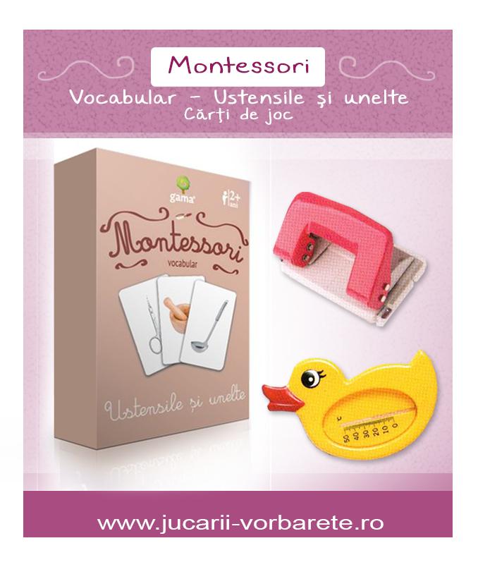 Montessori - ustensile si unelte 1