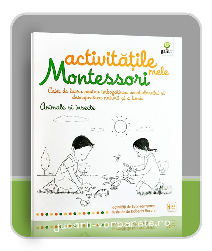 caietul meu Montessori - Animale si insecte - imagine produs