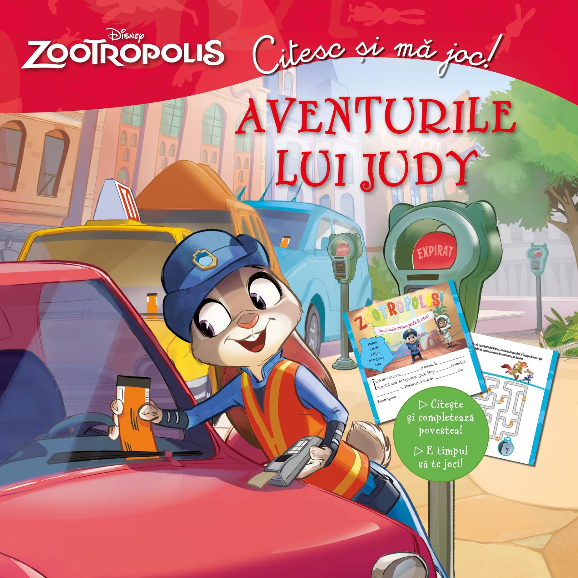 Citesc si ma joc. Zootropolis